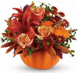 Autumn's Joy  from Mona's Floral Creations, local florist in Tampa, FL