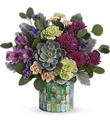Marvelous Mosaic Bouquet from Mona's Floral Creations, local florist in Tampa, FL