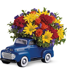 '48 Ford Pickup  from Mona's Floral Creations, local florist in Tampa, FL