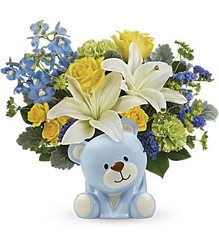 Sunny Cheer Bear from Mona's Floral Creations, local florist in Tampa, FL