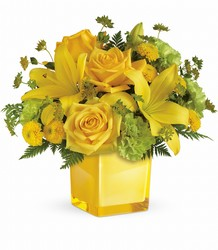 Sunny Mood Bouquet from Mona's Floral Creations, local florist in Tampa, FL