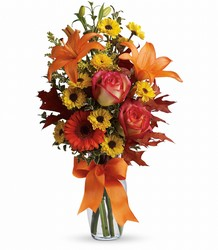 Burst of Autumn from Mona's Floral Creations, local florist in Tampa, FL